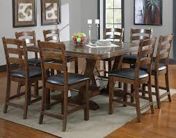 rustic square dining table. Distressed Square Dining Room Table Seats 8 For Rustic Spaces Ideas