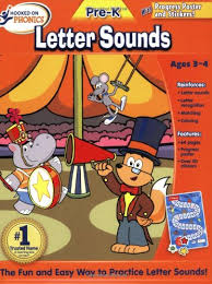 Hooked On Phonics Pre K Letter Sounds Workbook Hooked On