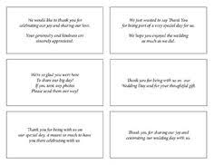 wedding thank you note wording are you doing thank you cards for What To Put In Wedding Thank You Cards sample thank you cards for wedding gifts what to write in wedding thank you cards