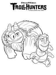 Trollhunters Da Colorare Cartoni Animati