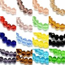 10 Strds <b>Handmade Abacus Glass</b> Beads Faceted Loose Bead Tiny ...