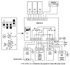 honeywell aq 6000 boiler control two motorized zone valves Honeywell Zone Control Wiring Diagram honeywell aq 6000 boiler control two motorized zone valves Honeywell V8043E Wiring