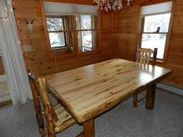 rustic wood dining room table dark brown finish triangle mango wood dining table cream lacquer rectangle