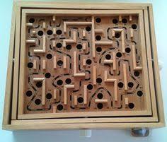 Old Wooden Board Games Leuke houten knopjespuzzel met verschillende boerderijdieren merk 36