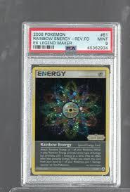 Pokemon ex Legend Maker 81/92 arco iris energía alemán Pokémon: cartas  sueltas dgs-praxisleitlinien Coleccionismo