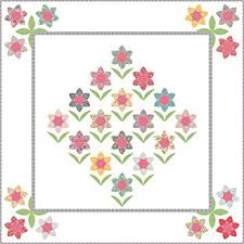 Paper Piecing Flower Amazon Com Forest Flowers Quilt Pattern By Sue Daley Designs Epp