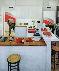Martha Rosler, Red Stripe Kitchen, From The Series House Beautiful:  Bringing The War