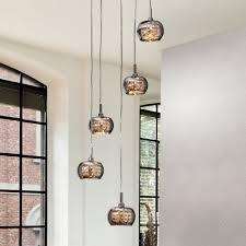 italian designer smoked glass pendant light modern glass pendant light g78