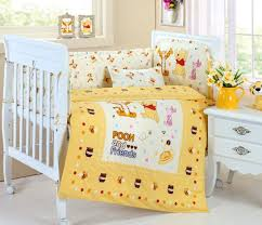 yellow nursery bedding plus theme winnie the pooh crib bedding for baby bedding your baby
