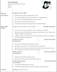 Resume Models In Word Format Resume Layout Word Resume Format Word ...