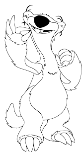 Click on the free ice age colour page you would like to print. The Ice Age For Kids The Ice Age Kids Coloring Pages