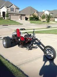 vw custom road legal trike chopper bobber chop reliant look ebay