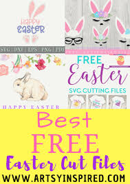 Still have any 2010 wall calendars hanging around? Free Easter Cut Files For The Cutest Projects Artsyinspired