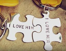 boyfriend gift personalized gift custom key chains valentine s his and hers i lover her i love him personalized key chains puzzle key