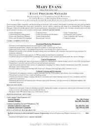Event Manager Resume Samples Print Resume Format For Event Management Fresher Event