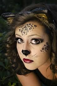 leopard art face painting pretty makeup fantasy maquillaje fantasia pintacaritas leopardo