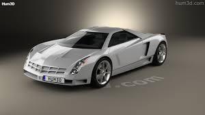 360 view of Cadillac Cien concept 2002 3D model - Hum3D store