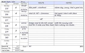 Superior Exercise Log Book Template Training Reviewshub Info