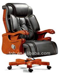 luxury office chair. Black Leather Swivel Big Boss Chair, CEO Desk Luxury Office Furniture (FOHA Chair