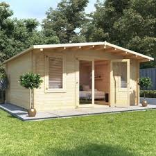 home office in the garden. BillyOh Winchester Log Cabin Home Office In The Garden