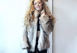 next up is my newest addition this fur coat from top how absolutely stunning is the fur of this coat i just can t get over it it looks so realistic