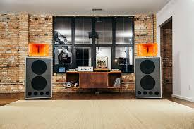 klipsch wall speakers. photo c/o ryan hendrix klipsch wall speakers s