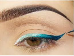 ombre cat eye makeup
