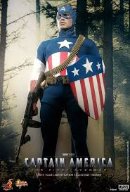 hot toys capn america star spangled man toyfair exclusive figure sixth scale masterpiece