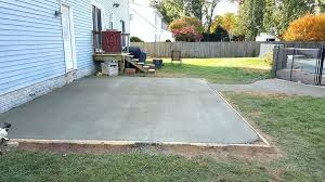 ideas pour concrete patio or pouring gorgeous a with how to build c63