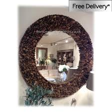 round wood wall mirror choice image home design wall stickers