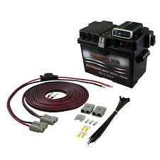 dc to dc battery chargers for dual battery systems how to wire projecta idc25 at Projecta Idc25 Wiring Diagram