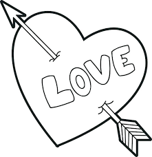 valentines coloring pages for kids elegant valentines coloring pages printable on gallery