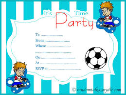 printable invitations for kids printable birthday party ideal boys party invitations invitation