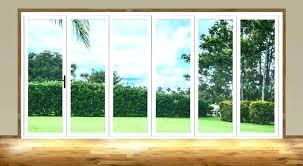 foot sliding door innovative folding patio doors panoramic for multi panel glass 10 wide ft barn