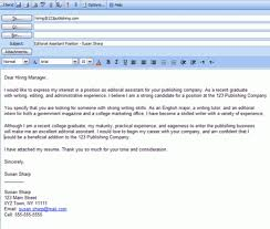 Sending Resume Email Best Sending A Cover Letter And Resume By Email 60 Easy Steps For Emailing