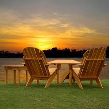 Adirondack chairs on beach sunset Couple Wooden Adirondack Chairs 123rfcom Best Adirondack Chairs Reviews And Top Picks In 2018