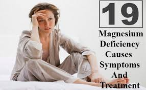 Resultado de imagem para symptoms of magnesium in the body