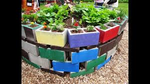 35 beautiful cinder block garden design ideas