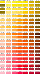 Orange Pantone Color Chart Pantone Orange Color Chart Bedowntowndaytona Com