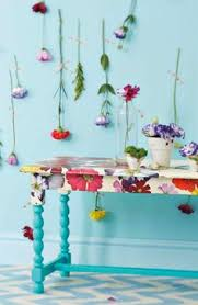 floral decoupage furniture. Sunday Reading Floral Decoupage Furniture A