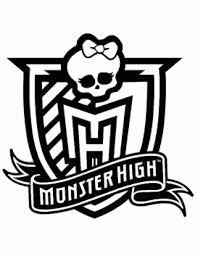 Small Picture Monster High Logo Coloring Page H M Coloring Pages