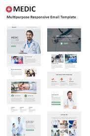 Medical Healthcare Templates Newsletter Template Website