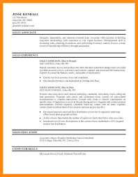 Sales Associate Resume 9 10 Retail Sales Associate Resume Samples Free