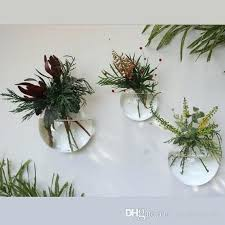wall plant holders glass air plants holders wall glass vase wall bubble terrariums indoor wall planters