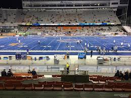 Albertsons Stadium Interactive Seating Chart Bronco Stadium Section 23 Rateyourseats Com