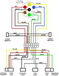 7 way trailer harness wiring diagram dolgular com showy random 2 trailer wiring diagram 7 way ford 7 way trailer harness wiring diagram dolgular com showy random 2