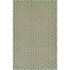 bowery ainslie brown green 9 ft x 13 ft area rug