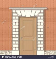 front door drawing. Vector Drawing Of Front Door I