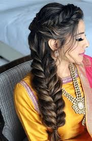 hairstyle for indian wedding function