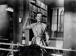 the well versed movie katherine hepburn intones lines from the song of hiawatha in desk set